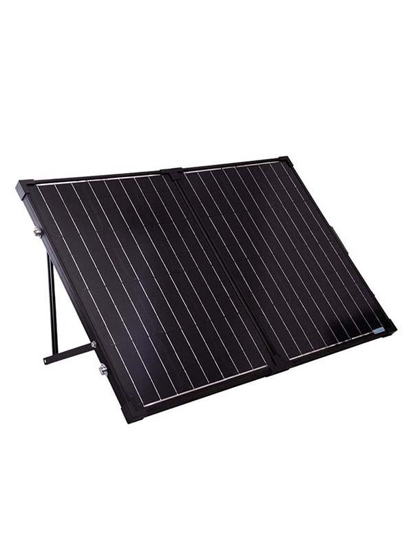 Panel solar portátil plegable Renogy - 100 vatios, 12 voltios