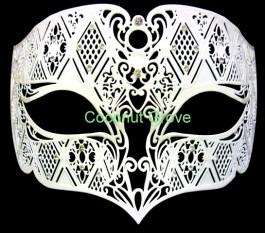 Máscara Masculina genuína Italiana Mozart Branca