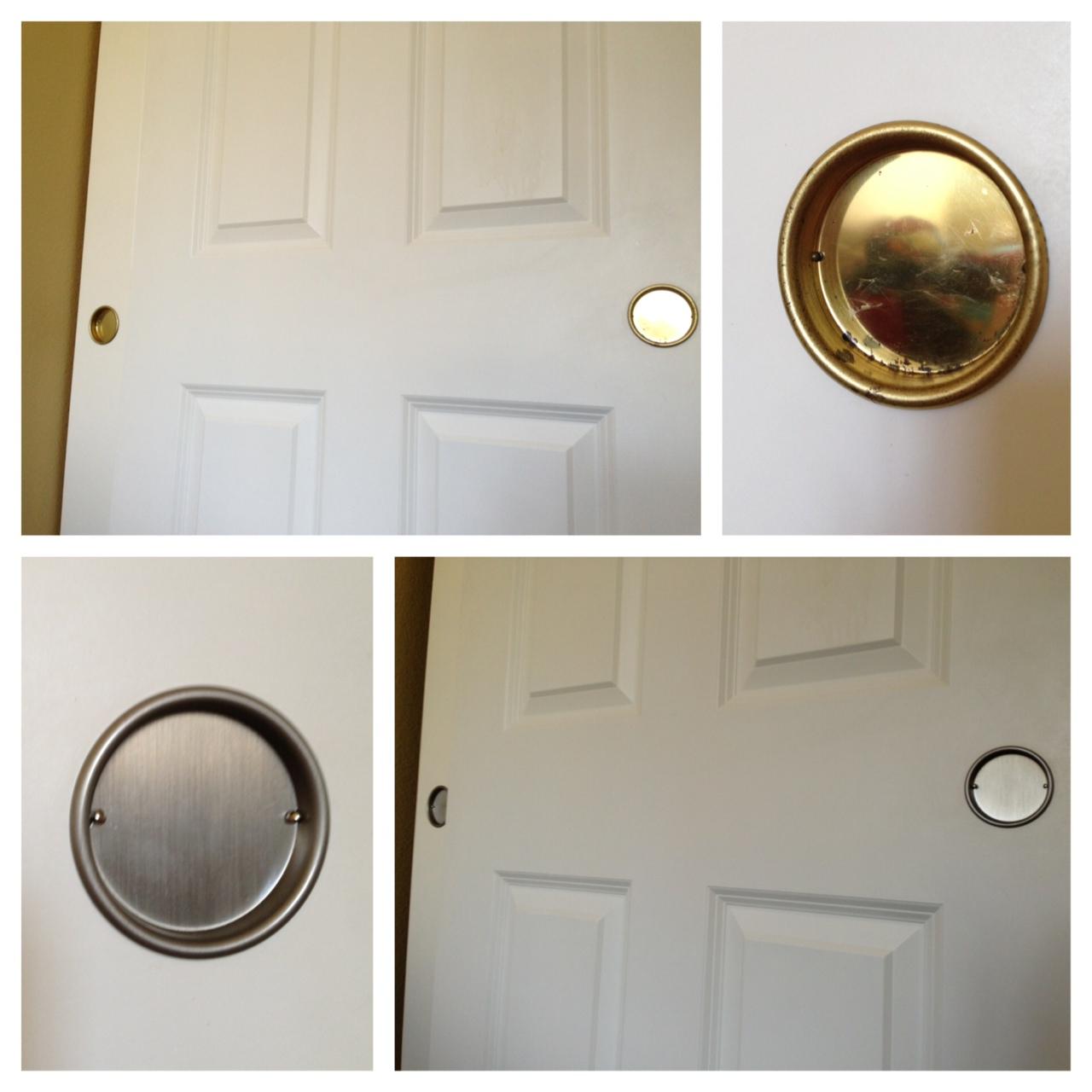 in knots easy upgrade closet door hardware. Black Bedroom Furniture Sets. Home Design Ideas