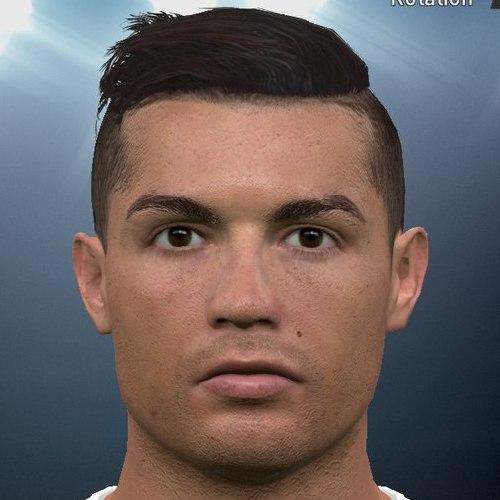 PES 2016 Cristiano Ronaldo Face by Tunizizou