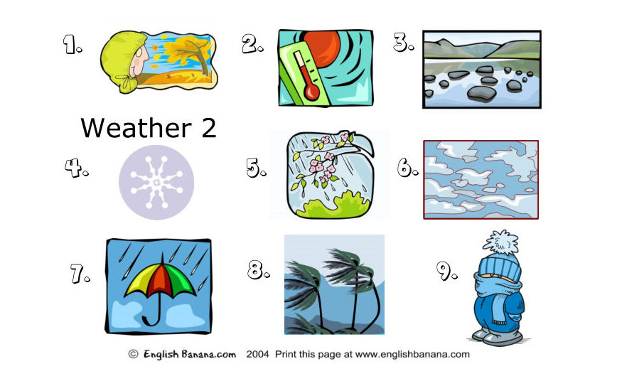 Weather Worksheet New 932 Weather Worksheet Esl Pdf