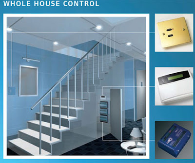 Rako Wireless Dimmers at home - whole house control with Rako Controls