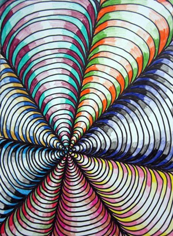 Line Design Art Ideas : Optische illusies en gezichtsbedrog