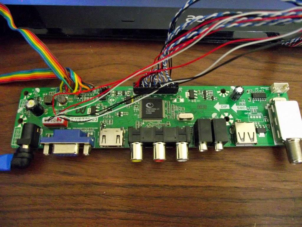 Placa T.VST29.03 IC TSUMV59XU