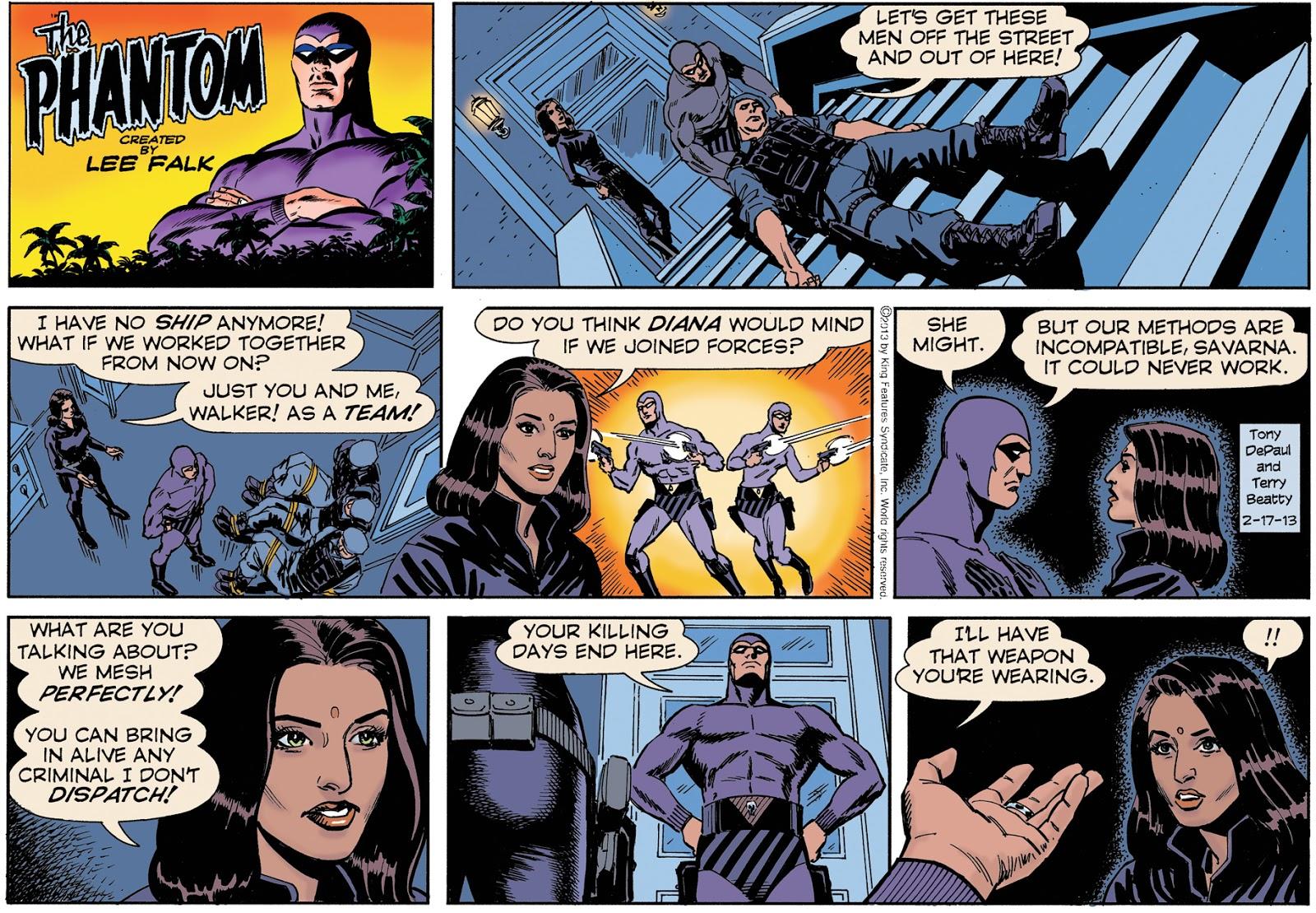 bandits strip Phantom comic three