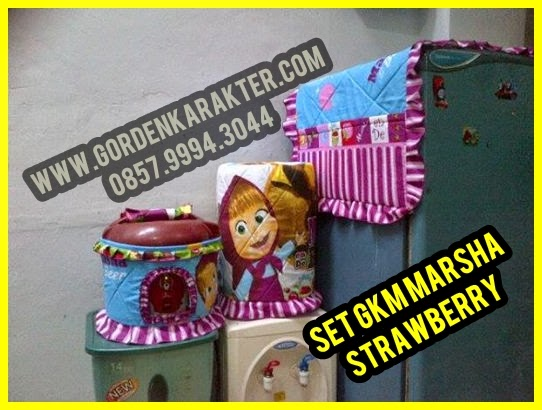 Jual Sarung Galon Tutup Kulkas Sarung Magic Jar Set GKM Lucu