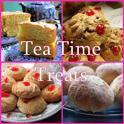Tea Time Treats blog challenge