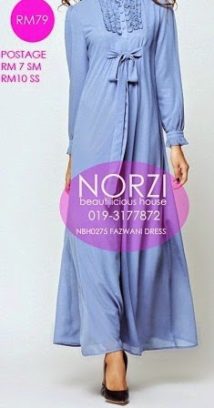 NBH0275 FAZWANI JUBAH  (MATERNITY FRIENDLY)