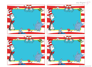 My Paper Lily Free Printables Dr Seuss Is The Man - Dr seuss birthday invitations templates