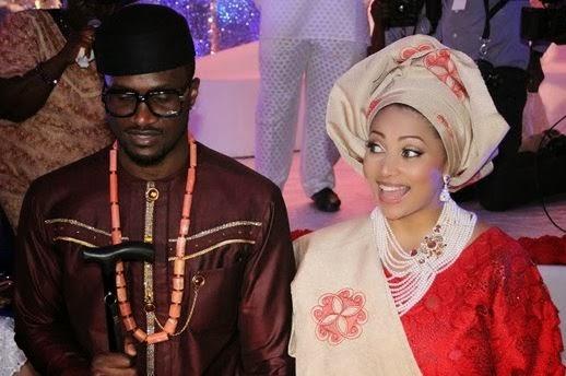 Peter Okoye Weds Lola Omotayo, Peter Okoye, Lola omotayo