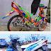 Modifikasi motor yamaha vega rr new ceper keren terbaru 2014