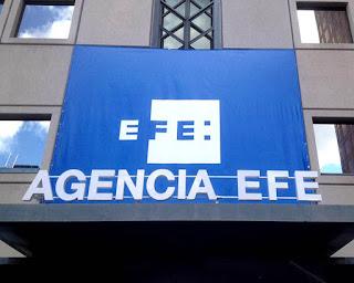 Foto de la fachada de la agencia EFE