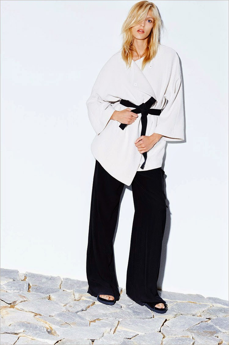 Anja Rubik is enlisted for the Mango Premium Fall/Winter 2014 Campaign