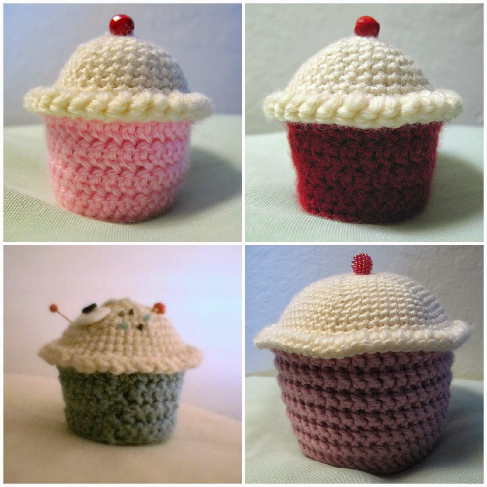 Oh the cuteness free crochet pattern amigurumi cupcakes whip free crochet pattern amigurumi cupcakes whip up something sweet for your sweetie this is a great beginners amigurumi pattern bankloansurffo Images