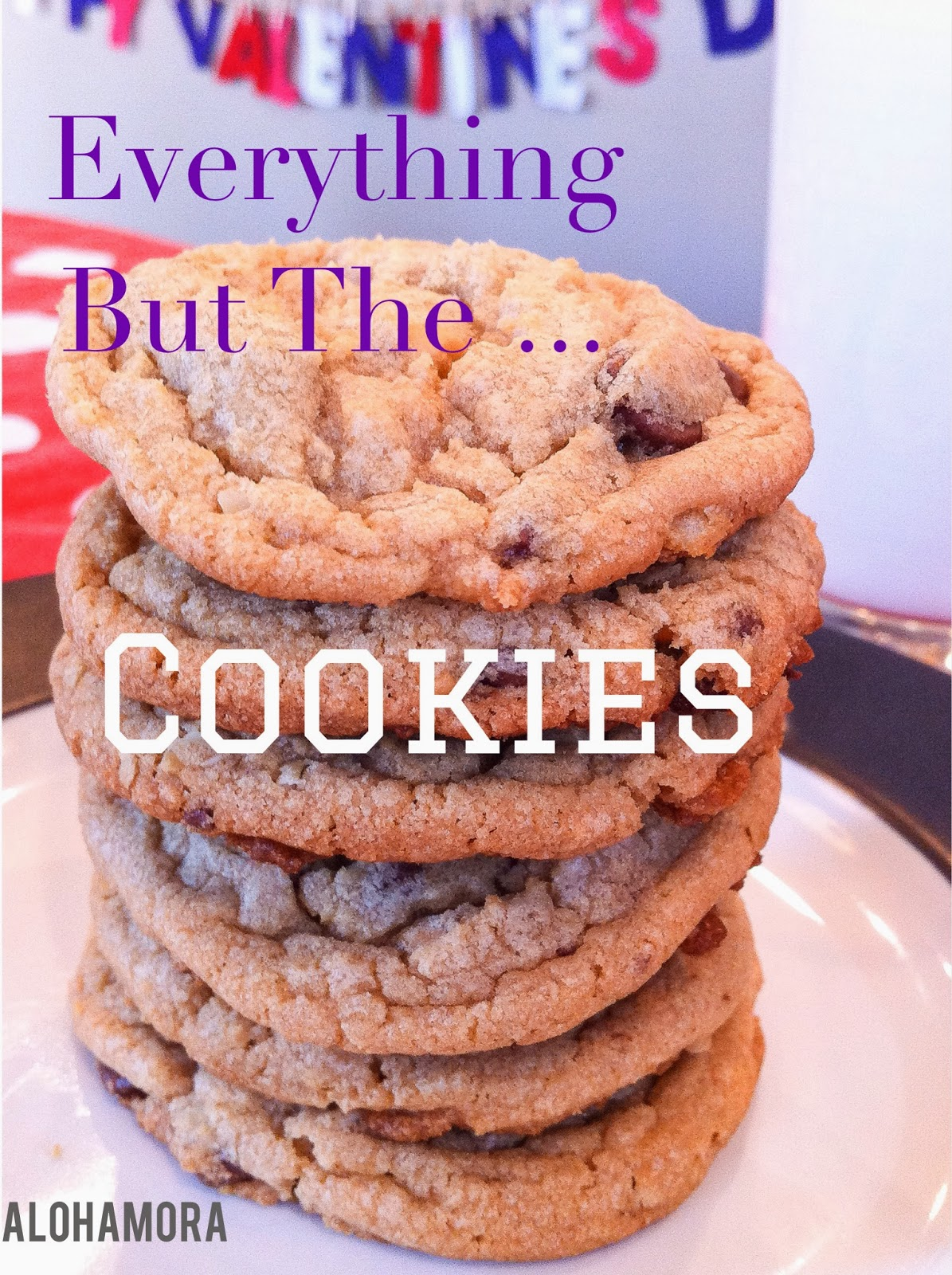 Everything but the kitchen sink cookies- potato chips, butterscotch, oats, and lots of yumminess Alohamora Open a Book http://alohamoraopenabook.blogspot.com/