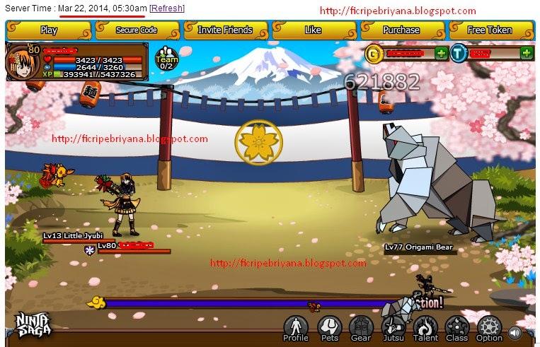 Cheat Damage 1 Hit Kill Ninja Saga 100% Work - Ficri Pebriyana