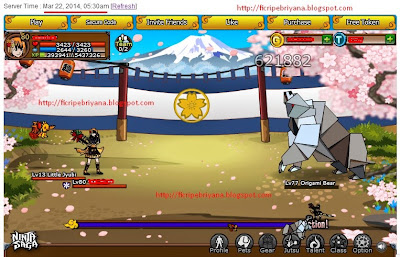 Cheat Damage 1 Hit Kill Ninja Saga 100% Work - Ficri Pebriyana