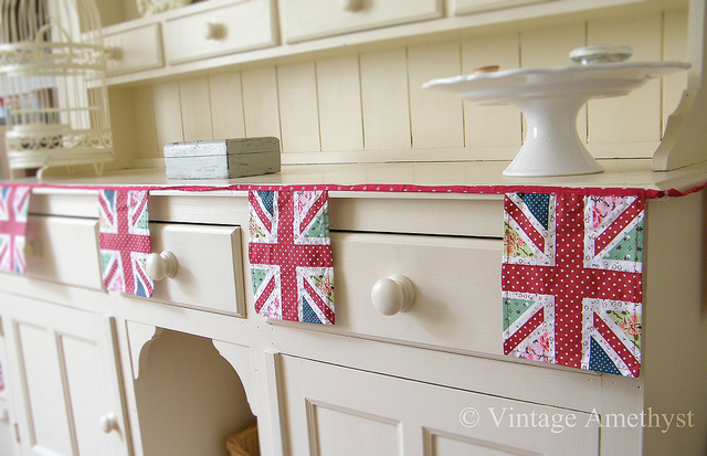 Well going along with the Royal Wedding theme again this week following on