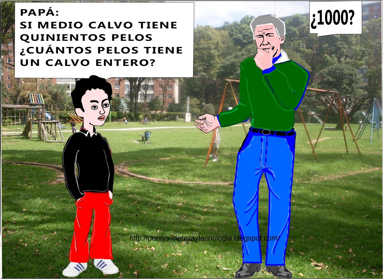 CHISTE GRÁFICO: EL CALVO CON PELOS