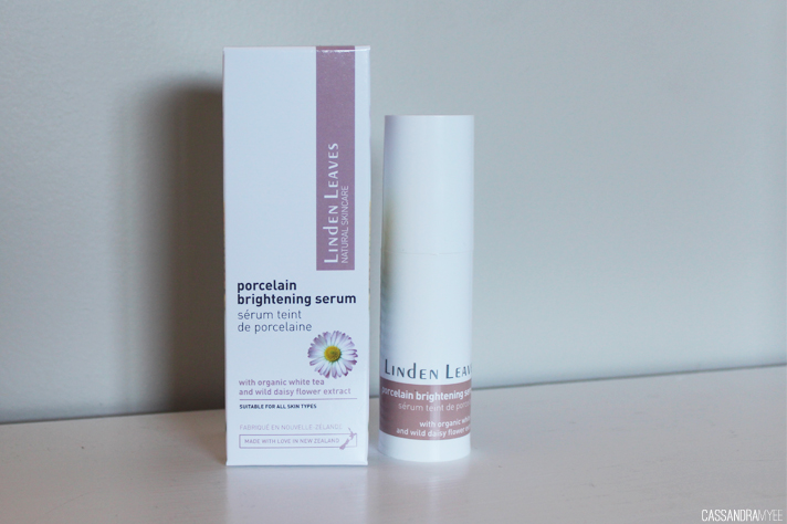 LINDEN LEAVES // Porcelain Brightening Serum Review - cassandramyee