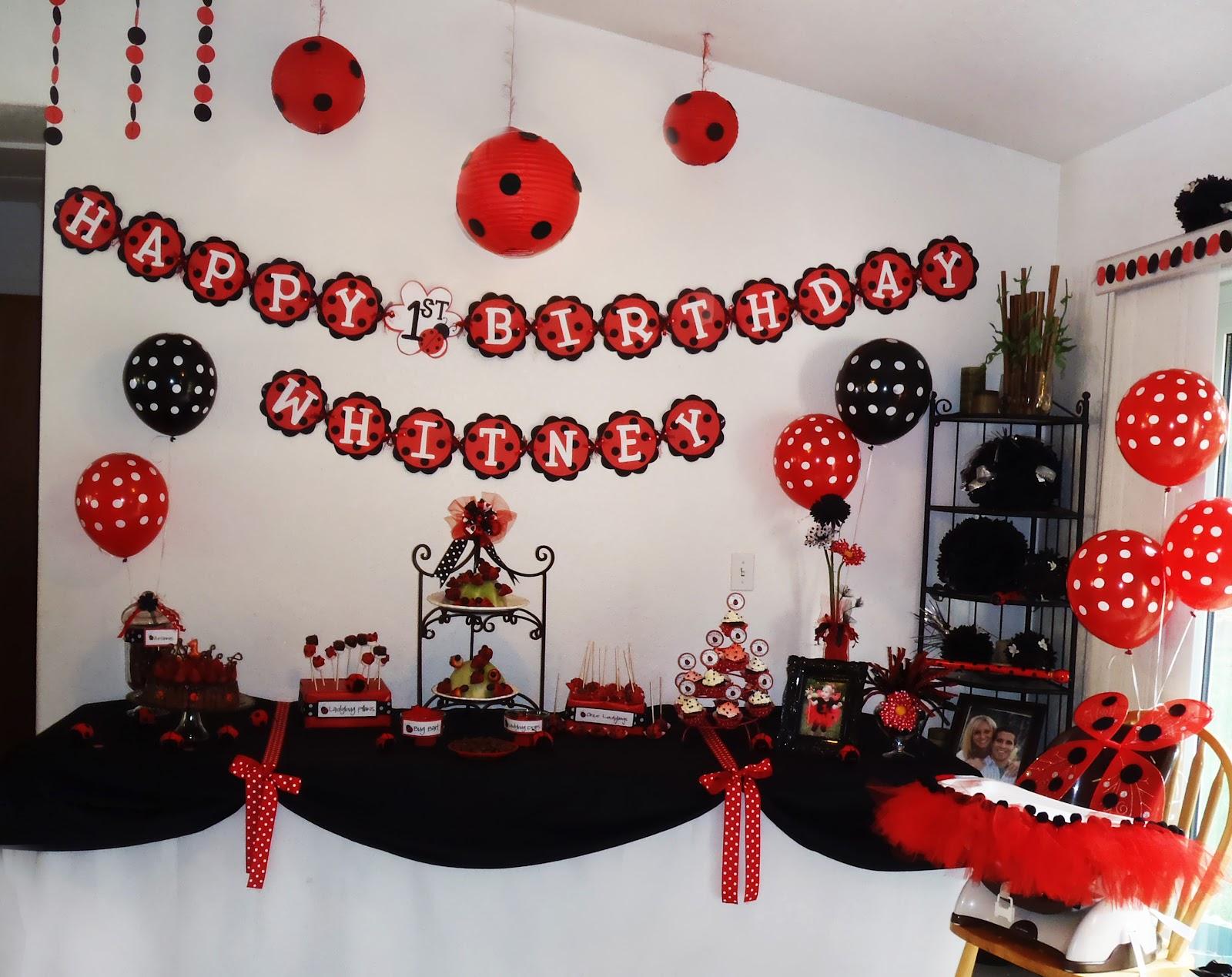 Sutherlands 2008 2012 whitney 39 s ladybug birthday party - Ideas para fiestas infantiles ...