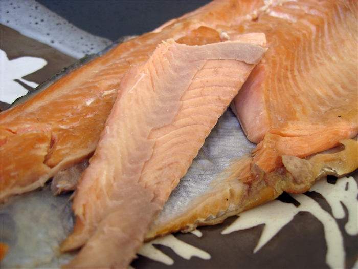 morsels and musings smoked rainbow trout