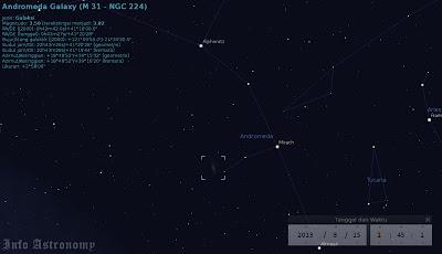 Agustus-Oktober, Waktu Terbaik Melihat Galaksi Andromeda