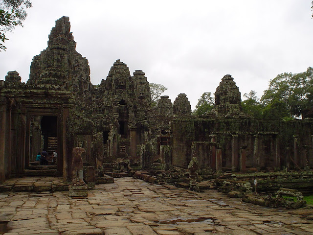 Remains of the Temples of Angkor - Cambodia