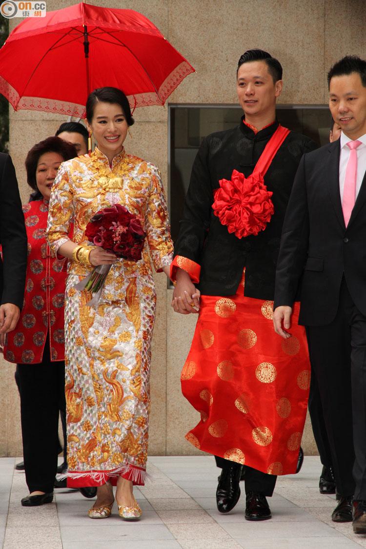 Myolie Wu Gets Married Today