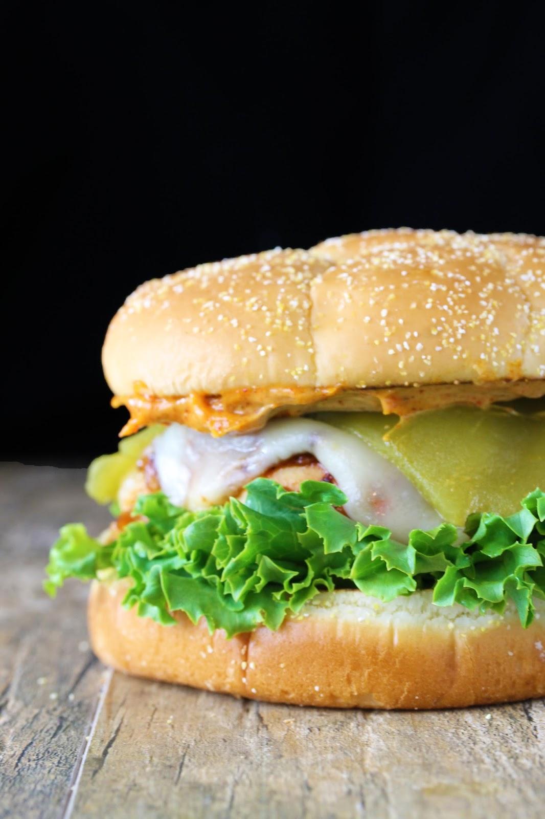 Sante Fe Grilled Chicken Sandwich (Carls Jr. Copycat
