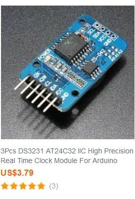 DS3231 RTC Module x 3