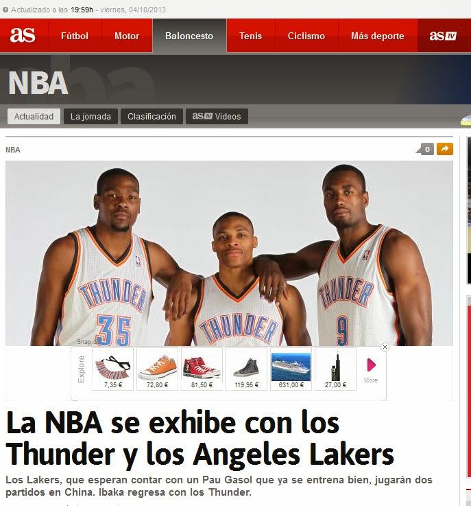 "LA NBA EN ""AS"""