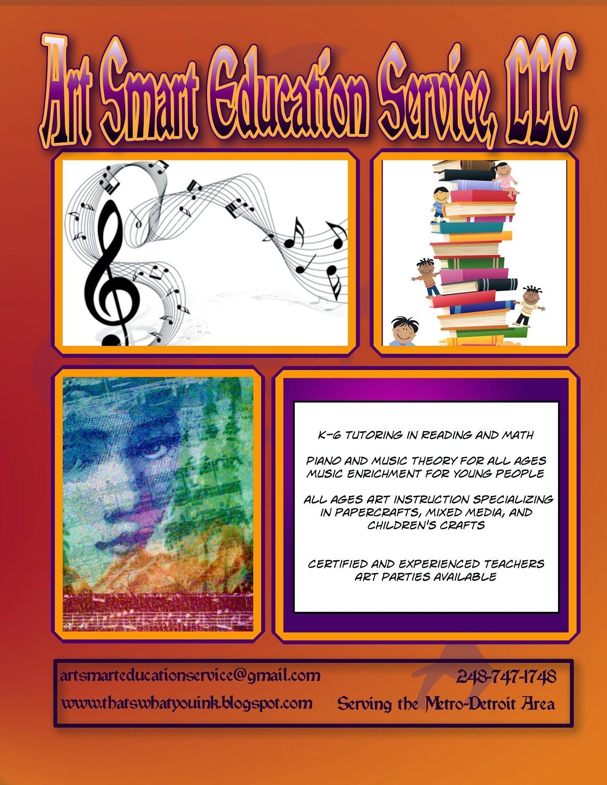 Art Smart Info Flyer