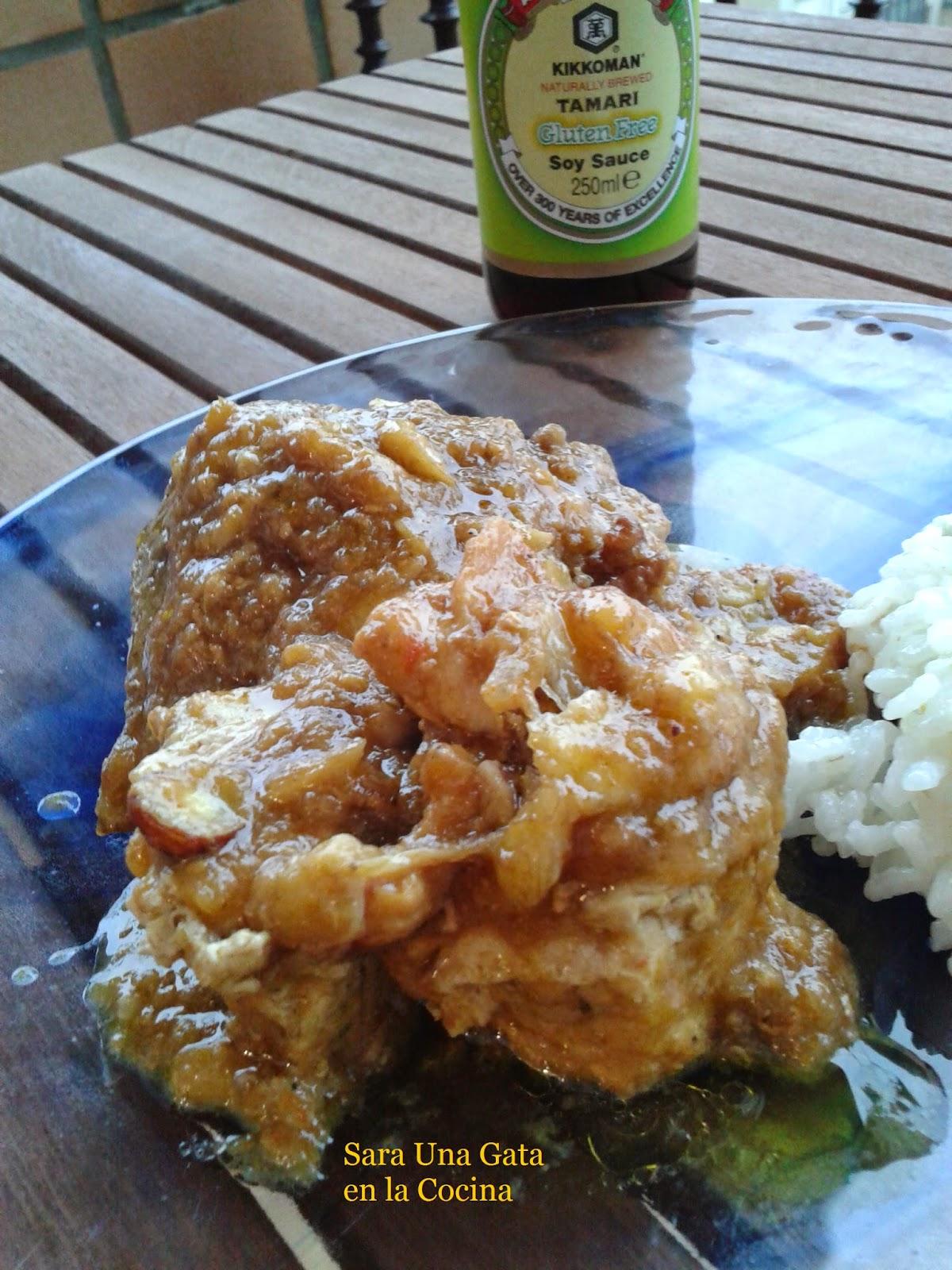 Pollo Con Plátano Al Curry