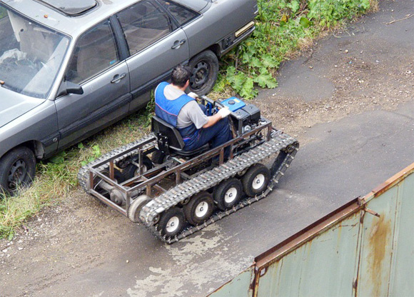 Как сделать своими руками танк чтобы мог ездить 55