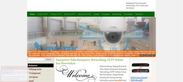 Sanjayanet.com Toko Komputer CCTV Online Terpercaya
