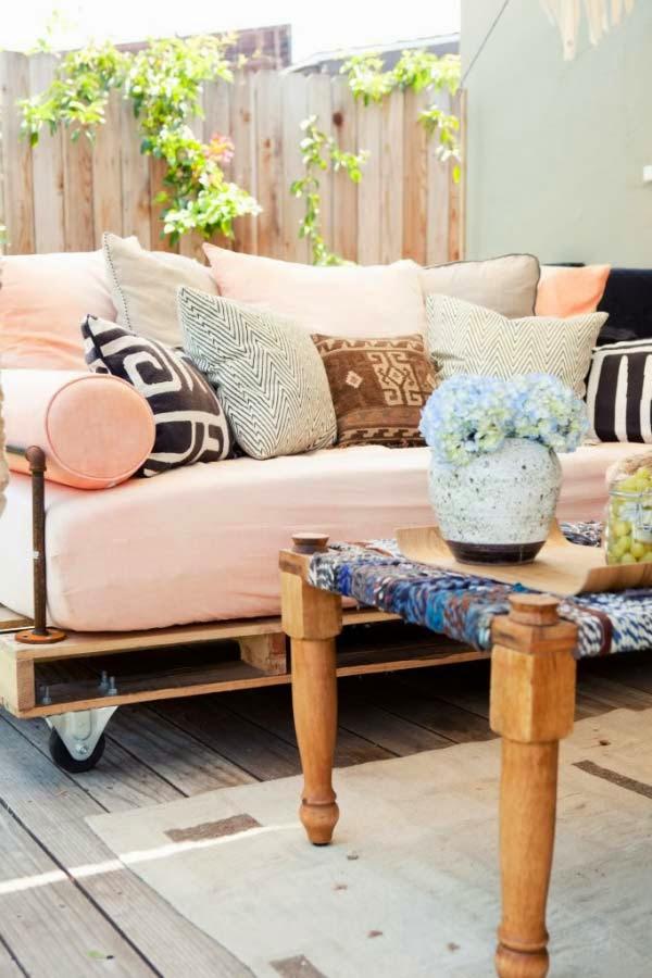 Mueblesdepalets.net: Construir un sofa-cama (futón) con palets