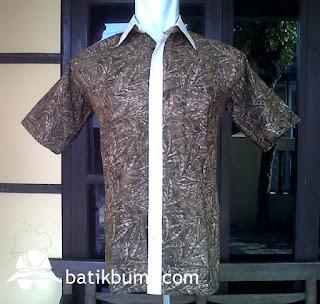 Kemeja Batik Cap