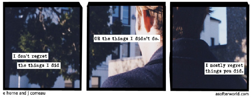 "Possibly my favourite ""Softer World"" so far."