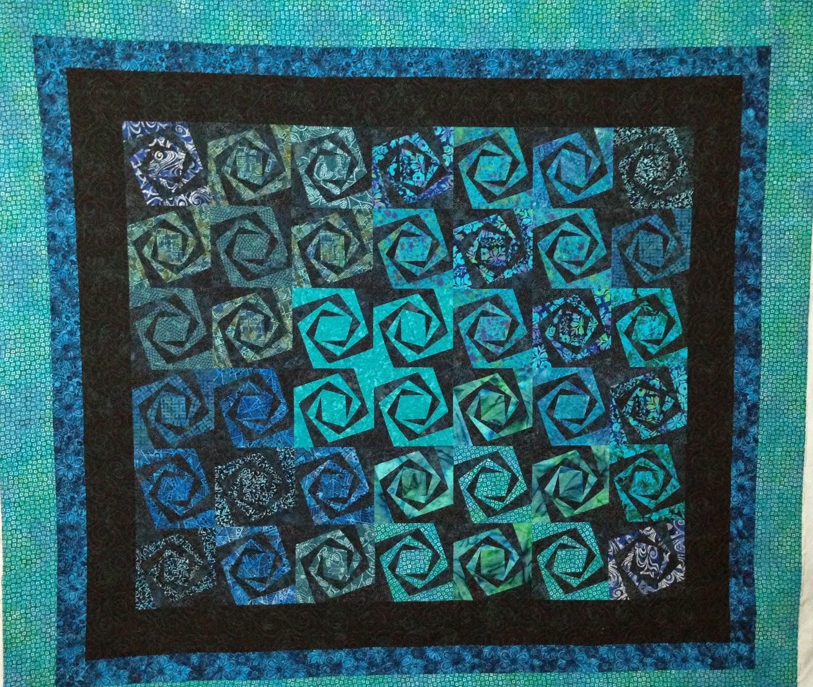 Kimberly Schlosser's Spiragyra Quilt