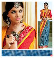 New Rajasthani Saree Designs