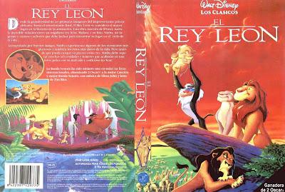 El rey león ( 1994 ) | Caratula | Imagenes | Disney