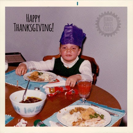 my sister Al on Thanksgiving 1970/1971 | Robin Davis Studio