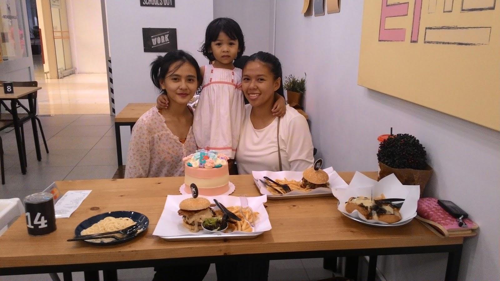 Sihat Selalu Birthday Qisya Di Wondermilk Ioi City Mall