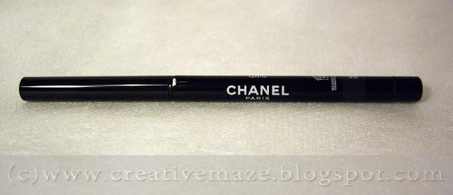 Водостойкий карандаш-контур STYLO YEUX WATERPROOF от CHANEL оттенка 35 gris