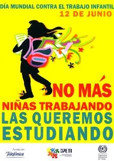 Dibujo por el Día Mundial contra el Trabajo Infantil