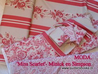 'Miss Scarlet - Minick en Simpson