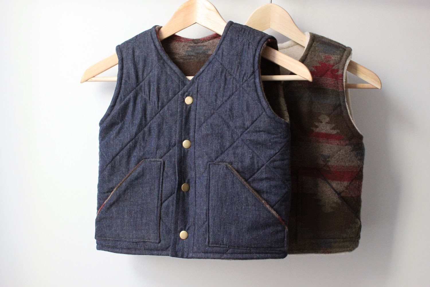SweetKM: Free Sewing Pattern : Hansel & Gretel Quilted Vest