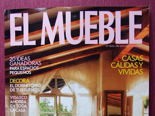 Mis saquitos de lavanda en la revista EL MUEBLE!!!!