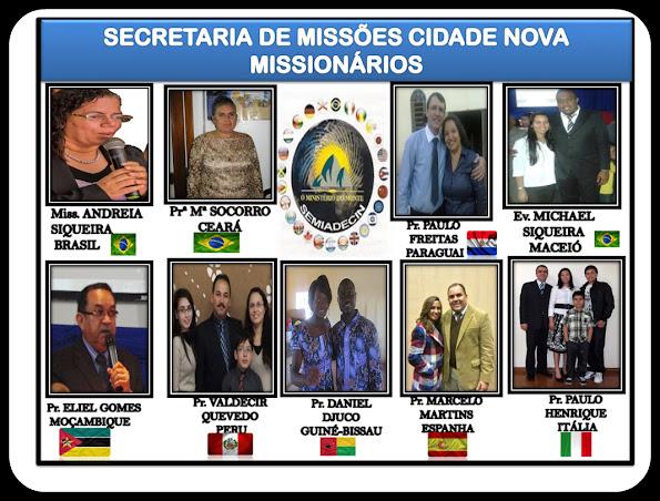 NOSSOS MISSIONÁRIOS